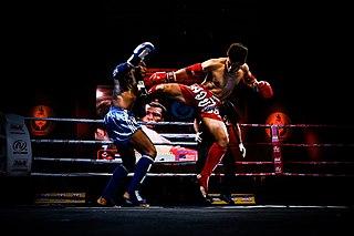 """Muay Thai Combat sport of Thailand (lit. """"Thai boxing"""")"""