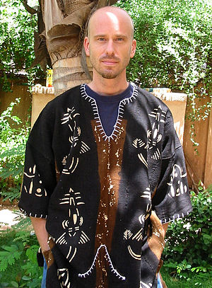 Bògòlanfini - A Bogolanfini shirt  (dashiki)