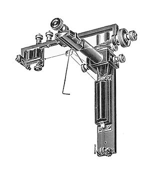 Syphon recorder - Muirhead mechanism