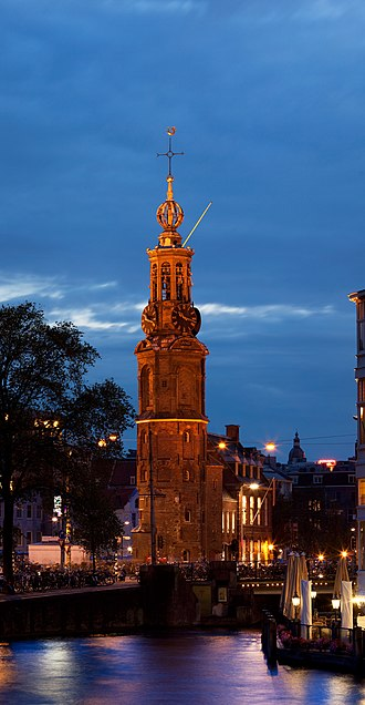 Muntplein, Amsterdam - Image: Munttoren Amsterdam