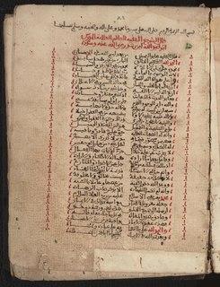 Rajaz (prosody) Metre in classical Arabic poetry