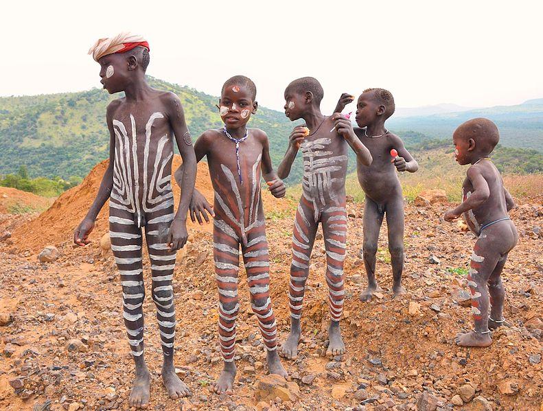 Нудисты африки фото
