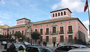 Museo de Historia de Madrid - View of the museum from Calle Fuencarral