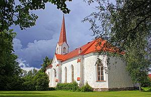 Mustvee - Image: Mustvee kirik