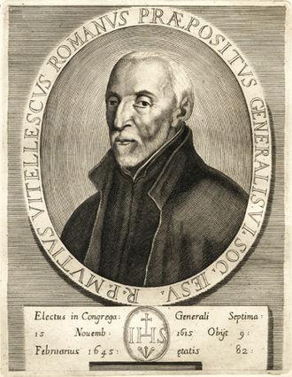 Mutio Vitelleschi - Very Rev. Mutio Vitelleschi, S.J.
