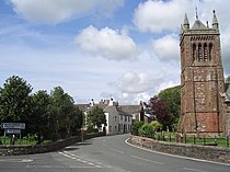 My house (and St Michael's and All Angels Church!) - geograph.org.uk - 1012125.jpg