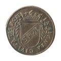 Mynt av koppar. Renässans eller senare - Skoklosters slott - 100204.tif