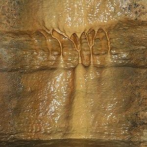Flowstone - Flowstone in Mystery Cave, Minnesota