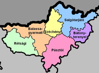 Nógrád districts.png