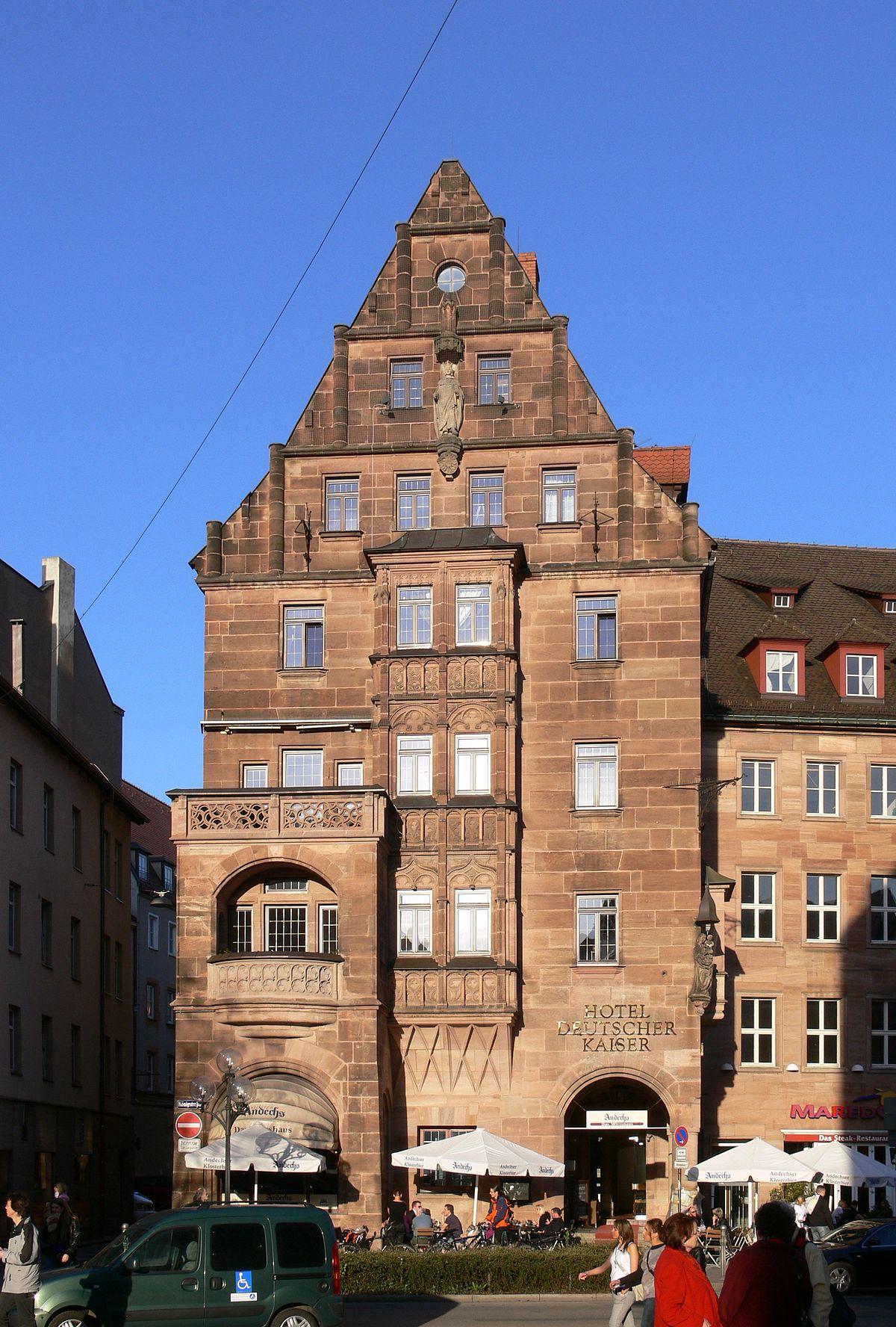 Hotel Deutscher Kaiser Nrnberg Wikipedia