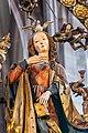 Nürnberg St. Lorenz Englischer Gruß Maria 02.jpg