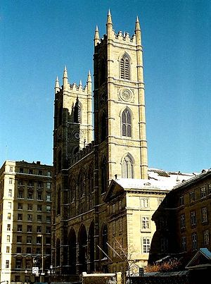 Architecture of Montreal - Notre-Dame Basilica