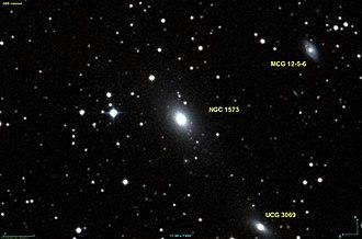 NGC 1573 - DSS image of NGC 1573