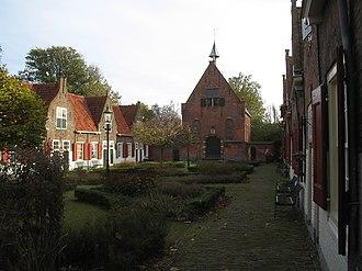 Naaldwijk - Image: Naaldwijk hofje