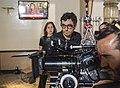 Nacho Ruipérez durante el rodaje de la película 'El Desentierro'.jpg
