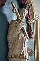 Nagylóc, római katolikus templom 2021 16 Nepomuki Szent János-szobor.jpg
