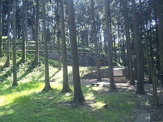 Nanao Castle - Ruins of the castle