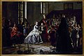 Napoleon III and the imperial family visiting an orphanage in Fontainebleau.jpg