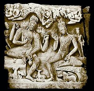 English: ~ NaraNarayana ~ DasAvatara Mandir ~ ...