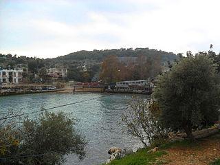 Narlıkuyu Town in Mersin Province, Turkey
