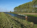 Narrowboat on the Lark - geograph.org.uk - 1555945.jpg