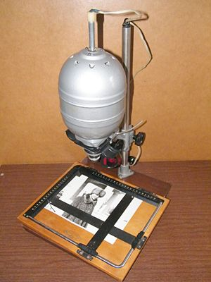 Printing your own pictures - Enlarger