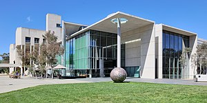 National Gallery of Australia - Image: National Gallery from SW, Canberra Australia
