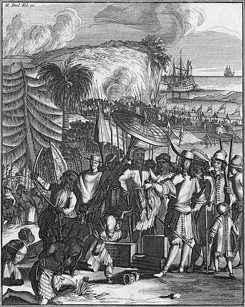 File:Natives of Arrakan sell slaves to the Dutch East India Company (1663).jpg