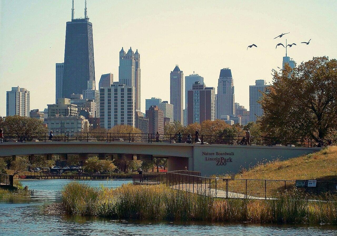 Nature Boardwalk Lincoln Park by Alanscottwalker CC 3.0