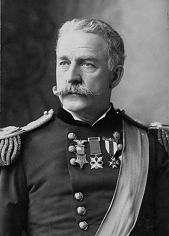 Commanding General of the United States Army - Last in office LTG Nelson A. Miles 5 October 1895—8 August 1903