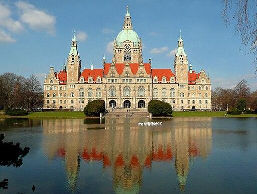 Neues Rathaus Hannover März 2010