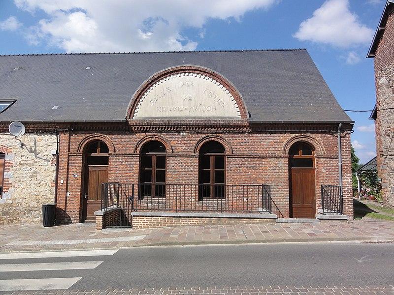 Neuve-Maison (Aisne) salle des fêtes