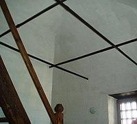 Nevjansk tower acoustic room corner