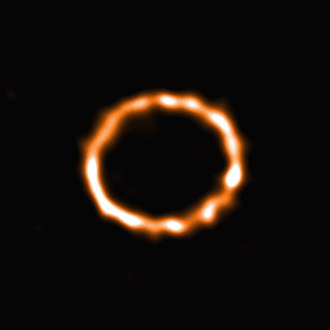 F-type main-sequence star - Disc of debris around an F-type star