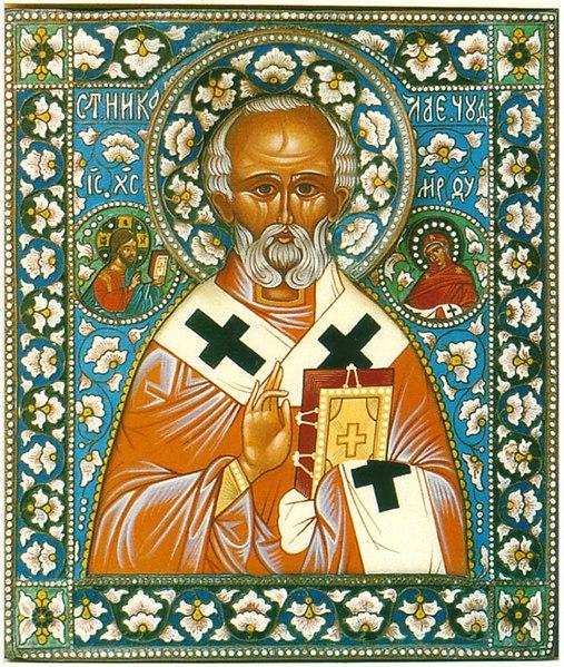 6/12 Saint Nicolas de Bari, archevêque de Myre 507px-Nicolas_myra
