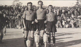 Aris Thessaloniki F.C. - Nikiphoros, Kostas and Kleanthis Vikelidis (1930)
