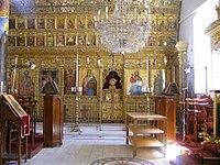 キプロスの聖サワ聖堂のイコノスタシス(キプロス正教会)