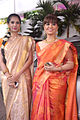 Nishka Lulla, Neeta Lulla at Esha Deol's wedding at ISCKON temple 17.jpg