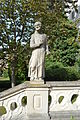 Nitra - Nitriansky hrad - socha sv. Benedikta.jpg