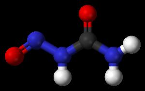Nitrosourea - Image: Nitrosourea 3D balls