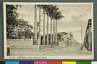No. 86. Santos. Avenida Conselheiro Nebias