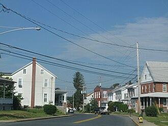 Shoemakersville, Pennsylvania - Noble Avenue in Shoemakersville
