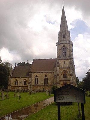 Nocton - Image: Nocton All Saints Church