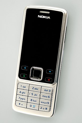 Nokia 6300 - Image: Nokia 6300 2008 04 23