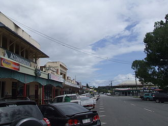 Gordonvale, Queensland - Norman Street, located beside the public park