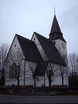 Norrlanda Church - Image: Norrlanda kyrka 1