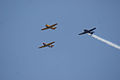 North American AT-6 SNJ Texan Trio Overhead 03 SNFSI FOF 15April2010 (14628216064).jpg