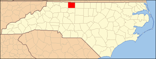 National Register of Historic Places listings in Stokes County, North Carolina Wikimedia list article
