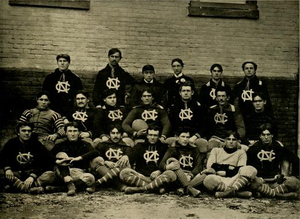 1895 North Carolina Tar Heels football team - Image: North Carolina Tar Heels football team (1895)