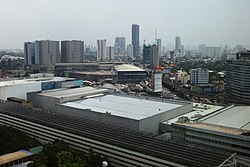 North EDSA - Trinoma, QC CBD, SM North (view from SMDC Grass) (Diliman, Quezon City)(2017-09-07) cropped.jpg